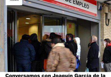 Conversamos con Joaquín García de la Asociación Victimas del Paro