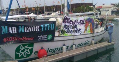 El Mar Menor, primera parada de la campaña 'Mediterráneo en Acción'