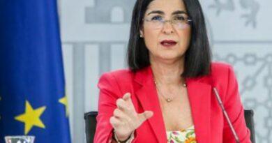 Rueda de prensa de Carolina Darías ( Ministra de Sanidad)