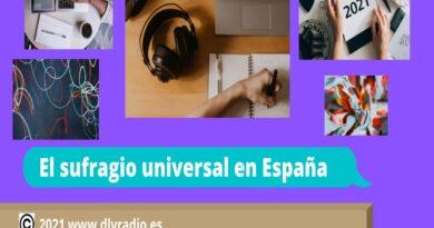 """20:00 h en directo Política activa """"El sufragio universal en España"""""""